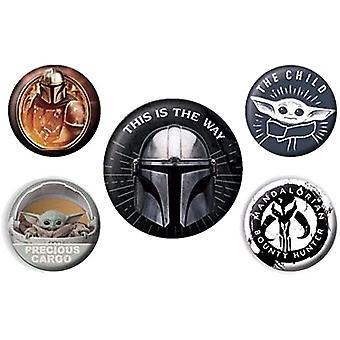 Star Wars-merkesett (pakke med 5)