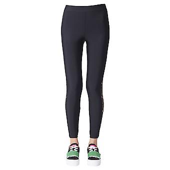 Gcds Cc94w03021002 Dames's Zwart Nylon Leggings