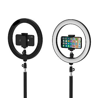 Led Ring Lights 26cm Annular Lamp  Studio Photography Photo Lamps With 160cm  Tripod (black Dc 5v)