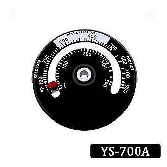 Magnetic Wood Stove Thermometer Household Fan