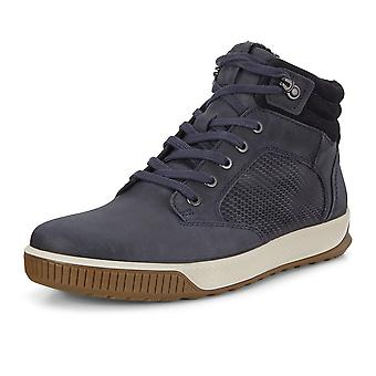 ECCO Ecco 501854 Byway Tred Leather Sneaker In Marine