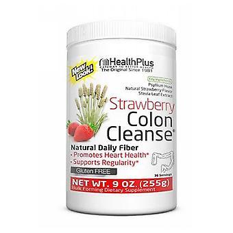 Terveys Plus Paksusuolen puhdistus Kaikki luonnollinen makeutusaine, Mansikka Stevia 9 OZ