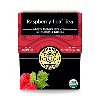 Buddha Teas Raspberry Leaf Tea, 18 Bags