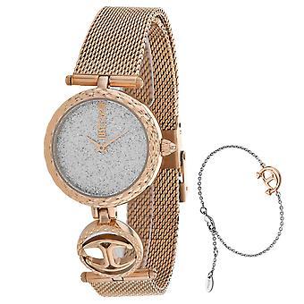 Just Cavalli Women's Mini Silver Dial Watch - JC1L103M0115