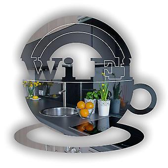 WIFI ・ コーヒー カップのアクリル ミラー ログイン