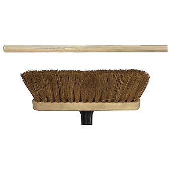 Home Label Natural Coco Broom Head 290mm + Handle VR22HHL