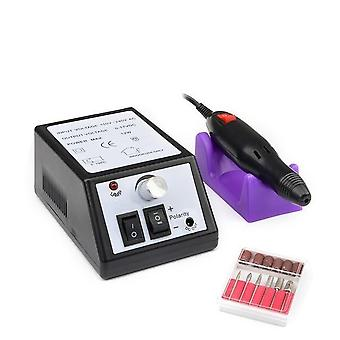 Elektrisk nagelborr filutrustning - Yrke Pedikyr Manikyr Machine