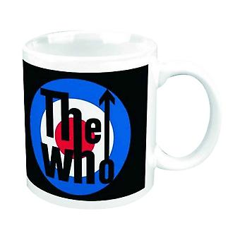 The Who Mug mod Target band Logo my generation new official Boxed