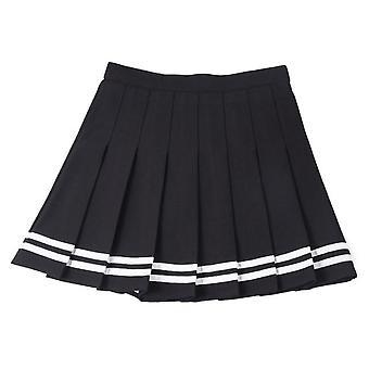 Piger Ny Tennis Nederdel Fashion Mini Plisseret Dance Student Baseball Uniform