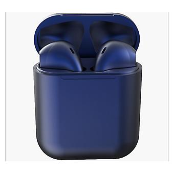 TWS inPods 12 Headphone Headset with Charging Box - Dark Blue Suitable for Android/IOS
