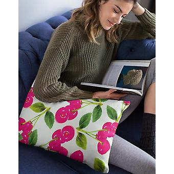 Cherry rectangle pillow