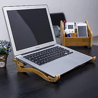 Bamboo Laptop Stand Holder