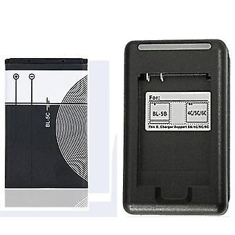 סוללה חלופית Bl מקורי נטענת + מטען USB