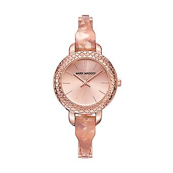 Mark Maddox relógio ouro rosa. 32 mm mp0005-97