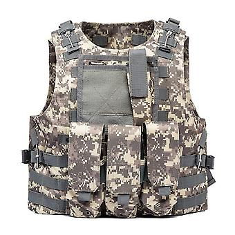 Airsoft Military  Molle Combat Assault Plate Carrier Tactical Vest