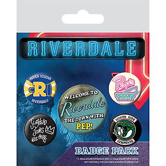 Riverdale Icons Badge Set (Pack of 5)