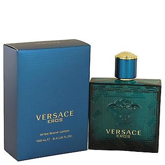 Versace Eros After Shave Lotion By Versace 3.4 oz After Shave Lotion