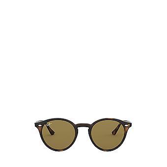 راي بان RB2180 الظلام هافانا النظارات الشمسية للجنسين