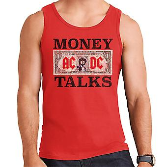 AC/DC Dollar Bill Money Talks Men's Vest
