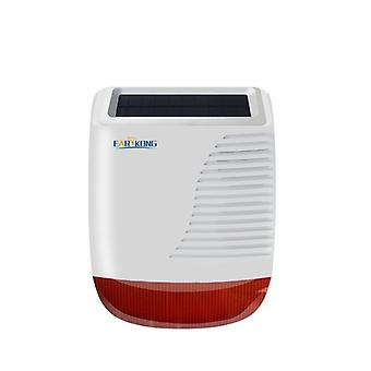 Draadloze Solar Strobe Siren voor home inbreker, wifi / gsm alarmsysteem