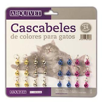 Arquivet Cascabel Cat Color 24 pcs. (Cats , Collars, Leads & Harnesses , Accessories)