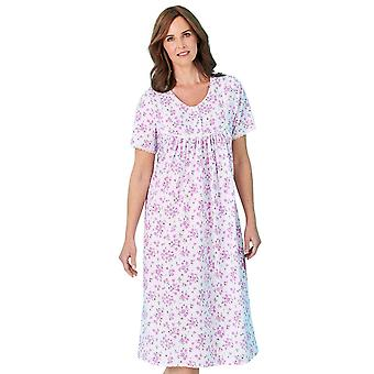 Chums Floral Print Short Sleeve Nightdress