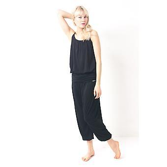 Comfort Flow Yoga Byxor - Svart, Harem