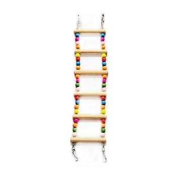 Bird Supplies Hanging Colorful Balls Climbing Ladder
