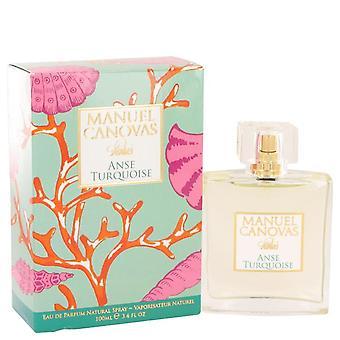 Anse Turquoise Eau De Parfum Spray By Manuel Canovas 3.4 oz Eau De Parfum Spray