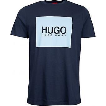 Hugo Dolive camiseta con logotipo de pecho grande