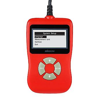 Obdii eobd car diagnostic scan tool code read scanner trouble codes