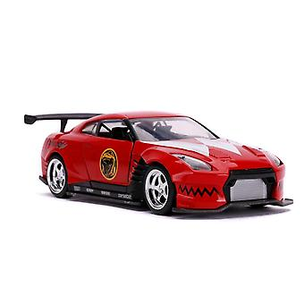 Power Rangers '09 Nissan GT-R Red 1:32 Scale Hollywood Ride
