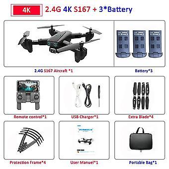 فودابل Profissional بدون طيار مع الكاميرا، HD Selfie، gps، واي فاي، زاوية واسعة، RC