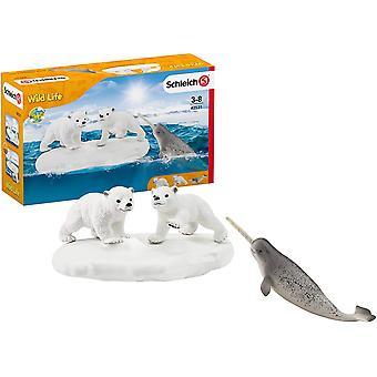 Schleich Wild Life Polar Playground