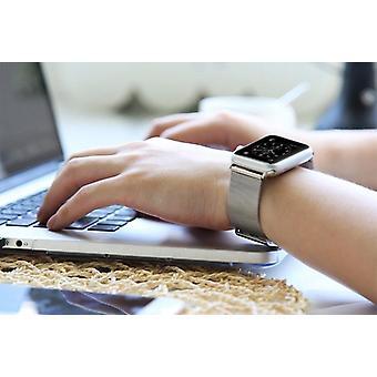 Ruostumattomasta teräksestä valmistettu Apple Watch Band