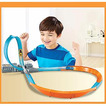 Track Figure 8 Raceway Educational Diecast Car Toy Set