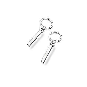 Boucles d'oreilles Sterling Silver - Origins Hoop + Bar Stud Drop