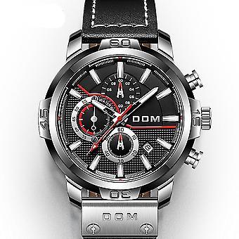 Dom Men's Supercar Style Wrist Watch Sapphire Swimming Waterproof