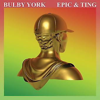 Bulby York - Epic & Ting [CD] USA import