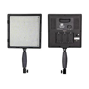 Cn-576 Hight CRI 95 Ultra Color LED Light Lamp Panel pour caméra reflex numérique