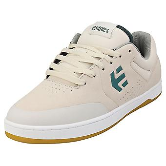 Etnies Marana Mens Casual Trainers in Off White Green