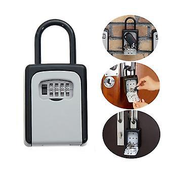 Sada zámků Safty Key - přenosná hliníková bezpečnostní schránka na klíče