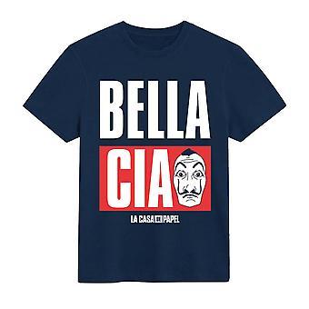 Money Heist Mens Bella Ciao T-Shirt