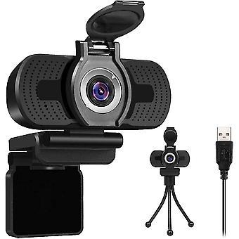 FengChun Full-HD 1080P Webcam mit Mikrofon Manual fokus, Abdeckung, Belichtungskorrektur,