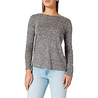 Springfield Camiseta Perlas T-Shirt, Grey, XL Women