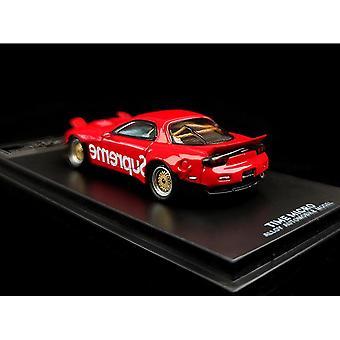 1/64 Modellauto Mazda RX 7 Legierung sterben Gegossen Auto Sammlung Geschenke Spielzeug-Pack mit Motor| Diecasts