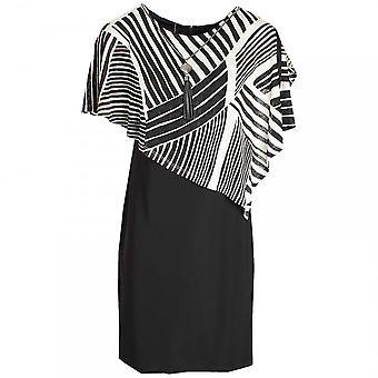 Frank Lyman Abstract Print Shawl Dress