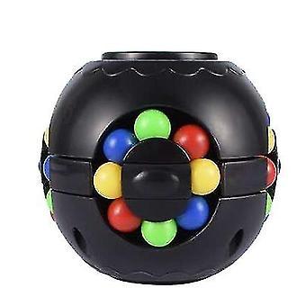 Black rubik's cube for children x4184