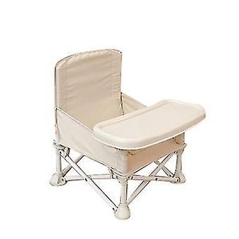 ベージュ屋外折りたたみ椅子座席の携帯用座席のための多機能の赤ん坊 x1545