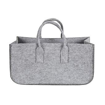 1Pcs Felt Storage Bag Clothing Storage Containers Toy Organizer|Foldable Storage Bags